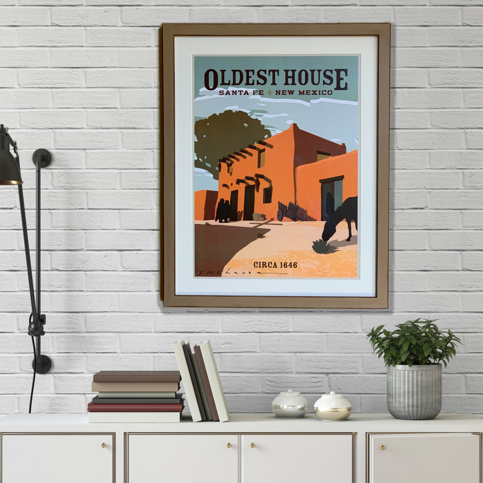 Santa Fe's Oldest House Poster Released