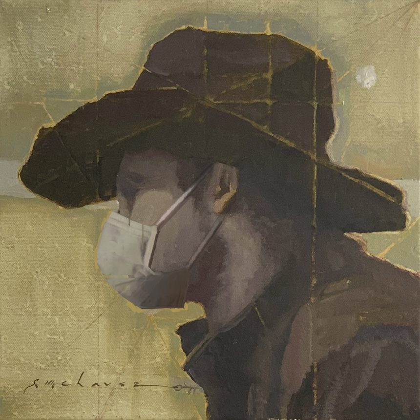 Young Cowhand, Masked