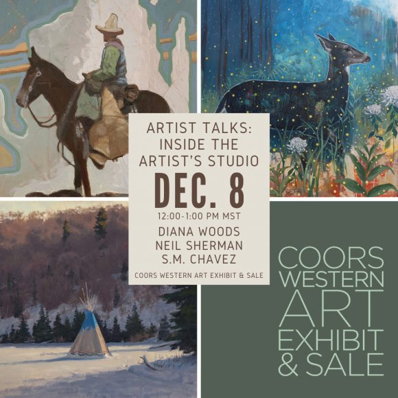 Artist Talk with Coors Western Art Show